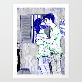 At Work Art Print