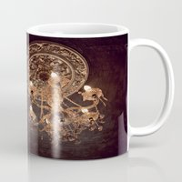 chandelier Mugs featuring chandelier by shannonblue
