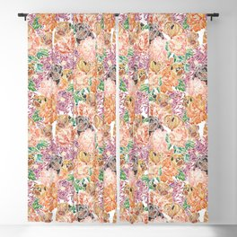 Because Pugs Watercolor Blackout Curtain