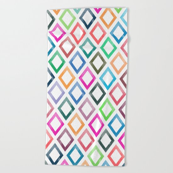 Lovely Pattern III Beach Towel