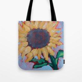 Blue Sunflower Tote Bag