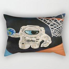 Space Games Rectangular Pillow