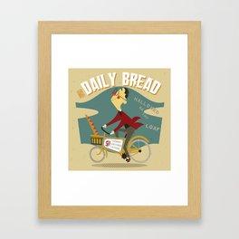 His Daily Bread Framed Art Print