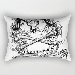 Believe the Dogma - Jolly Roger Rectangular Pillow