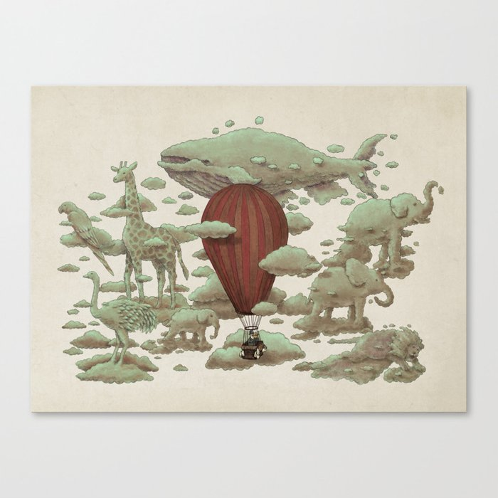 Cloud Watching Canvas Print