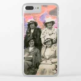 The Grey Quartet Clear iPhone Case