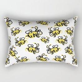 I love Bees Rectangular Pillow