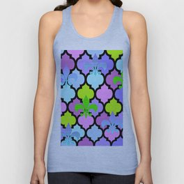 Moroccan and FDL Unisex Tank Top