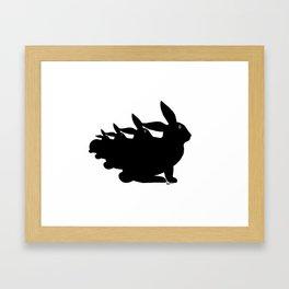 Why So Jumpy? Framed Art Print