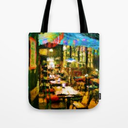The Cafe Tote Bag