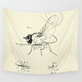 Fishing Fly-1968 Wall Tapestry