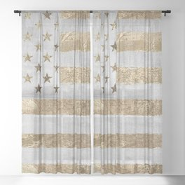 Dawn's Early Light II Sheer Curtain