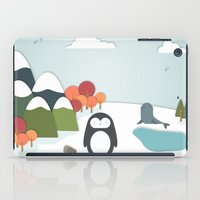 biology iPad Cases featuring South Pole by General Design Studio