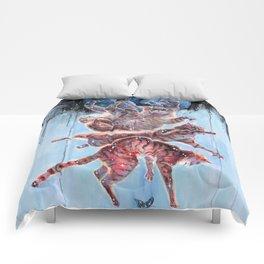 Felinoid Fall Comforters