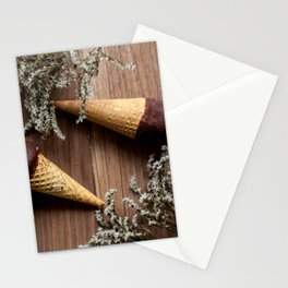 Ice creams Stationery Cards