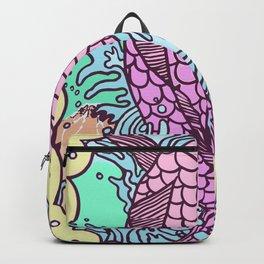 Pink Carp Backpack