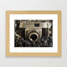 Blueberry Beirette Framed Art Print