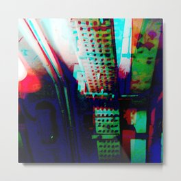 Meticulous ethics trounce rogue omissions. Metal Print