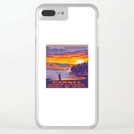 Pawnee National Park Clear iPhone Case