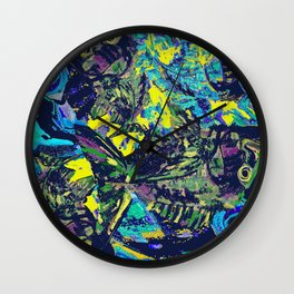 Scaling Fish Wall Clock