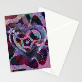 Candy Hearts 1 Stationery Cards