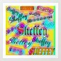 Sheffey Fonts - Yellow and Pink Rainbow 9642 by celestesheffey