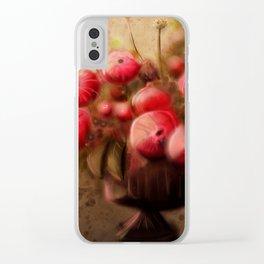 Bouquet 1 Clear iPhone Case