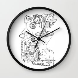 Pampludex #1 Wall Clock