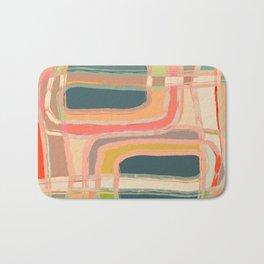 Abstract Windows Bath Mat