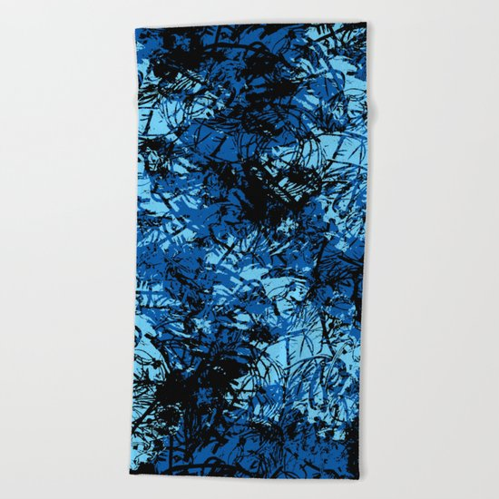 Abstract 7 Beach Towel