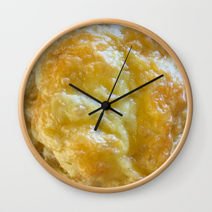 Cheese Scone Wall Clock
