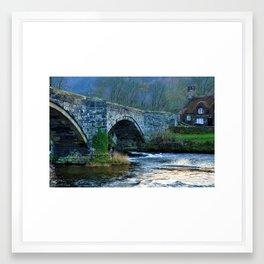 Swallow falls Framed Art Print