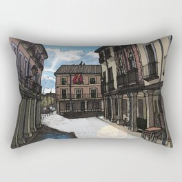 Calle Mayor (color) Rectangular Pillow