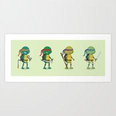 Teenage Mutant Ninja Turtles Art Print