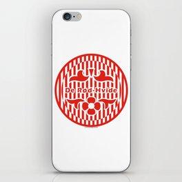 Denmark De Rød-Hvide (The Red-White) ~Group C~ iPhone Skin