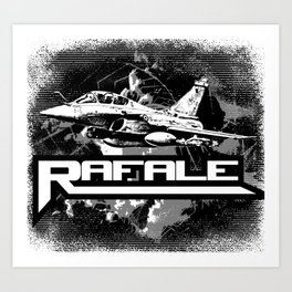 Rafale Art Print