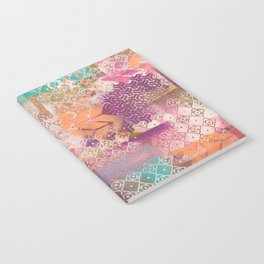 Pink and salmon arrows Notebook