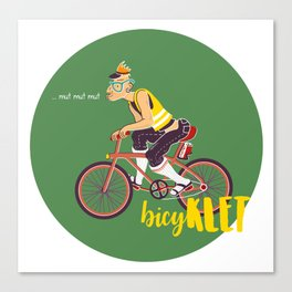 BicyKLET Canvas Print