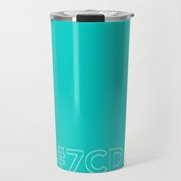 #7CDC60 [hashtag color] Travel Mug