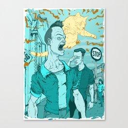 CatCall Canvas Print