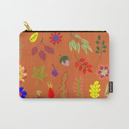 Fall flora Carry-All Pouch
