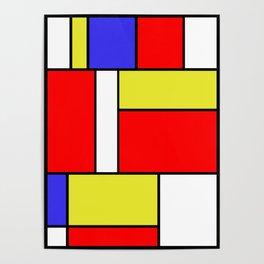 Mondrian #57 Poster