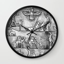 I Come in Peace 2 Wall Clock