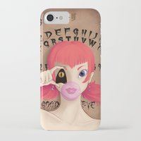 """ouija iPhone & iPod Cases featuring """"Ouija"""" by ZombieTeddie"""
