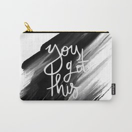 YOU GOT THIS HANDLETTERING QUOTE Carry-All Pouch