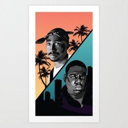 Rap Legends Art Print