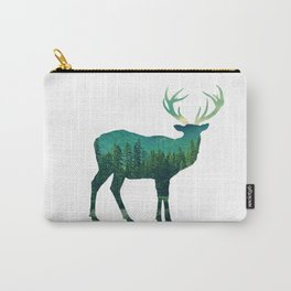 Deer Stag Forest Carry-All Pouch