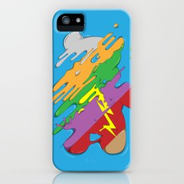 Rainbow Bear iPhone Case