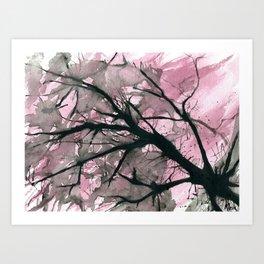 Atomic Blossom Art Print