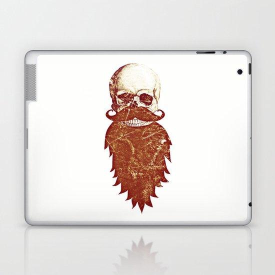 Beard Skull 2 Laptop & iPad Skin